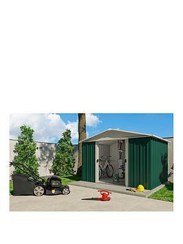 yardmaster-127x93ft-apex-roof-metal-garden-shed
