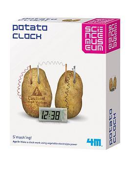 science-museum-green-science-potato-clock