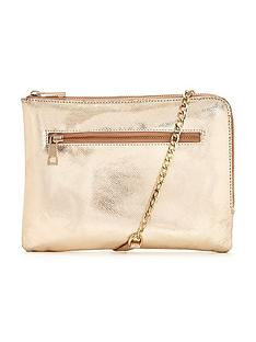 oasis-leather-bonnie-clutch-bag-gold