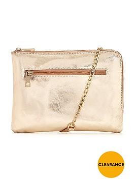 oasis-leather-bonnie-clutch-bag-gold