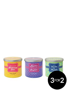 yankee-candle-scentiments-triple-pack-ndash-lilac-blossoms-vanilla-cupcake-and-meadow-showers