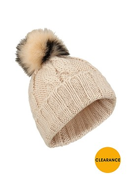 miss-selfridge-ombre-pom-pom-hat