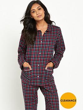 tommy-hilfiger-tommy-hilfiger-holiday-check-flannel-pyjama-set