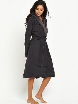 ugg-duffieldnbspdouble-knit-robe-charcoal