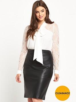 so-fabulous-lace-sleeve-and-back-yoke-pussybow-blouse