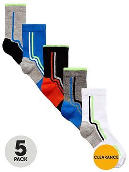 v-by-very-boys-sport-tech-socks-5-pack