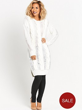 myleene-klass-cable-knit-front-dress-cream