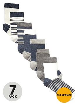 v-by-very-boys-marl-ankle-socks-7-pack
