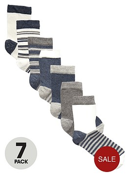 v-by-very-boys-marl-ankle-socks-7-pack