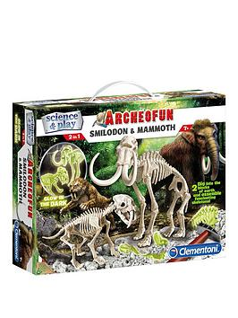 science-play-science-amp-play-smilidon-amp-mammoth-glow-in-the-dark