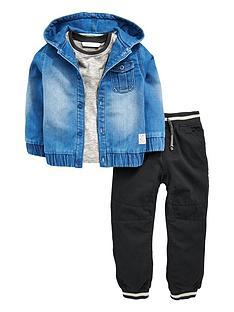 mini-v-by-very-boys-denim-jersey-hoodie-t-shirt-and-cargo-pants-set