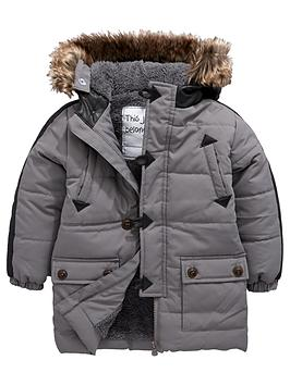 mini-v-by-very-boys-pu-trim-longlinenbsppadded-coat