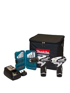 makita-108v-cordless-twin-pack-w-df330d-combi-drill-td090d-impact-wrench-bl1013-battery-x-2-charger