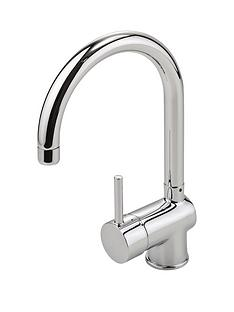 eisl-top-fix-single-lever-kitchen-mixer-tap-with-swan-neck-swivel-spout
