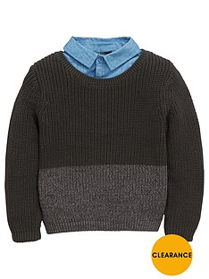 mini-v-by-very-boys-mock-layer-knitted-jumper