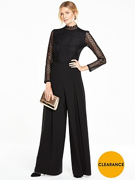 v-by-very-high-neck-long-sleeve-lace-top