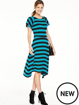 v-by-very-block-stripe-midi-dress