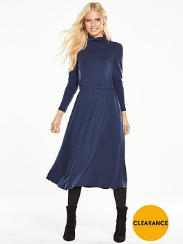 v-by-very-roll-neck-midi-dress