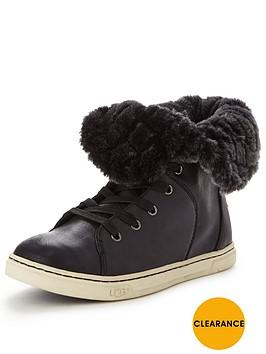 ugg-croft-quilted-fur-trainernbsp