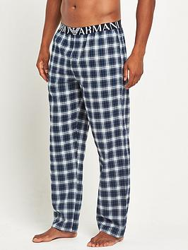 emporio-armani-brushed-check-trouser