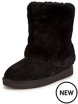 ugg-australia-ugg-pattern-exposed-fur-calf-boot