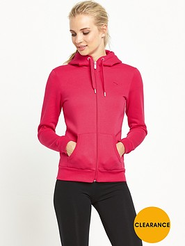 puma-essentials-zipnbsphooded-top-pink