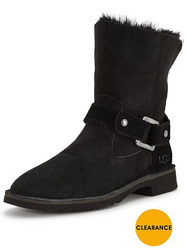 ugg-cedric-buckle-ankle-boot-black