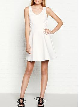 calvin-klein-sport-tank-dress-white