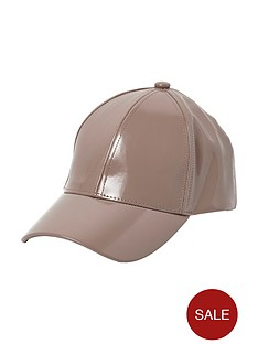 river-island-patent-cap
