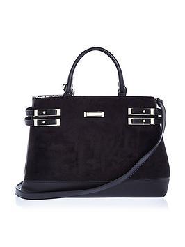 river-island-double-strap-tote-bag-black