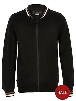 river-island-boys-black-knit-block-bomber-jacket