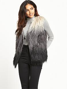 vero-moda-karma-short-fake-fur-waistcoat