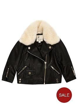 river-island-mini-girls-faux-fur-lined-biker-jacket