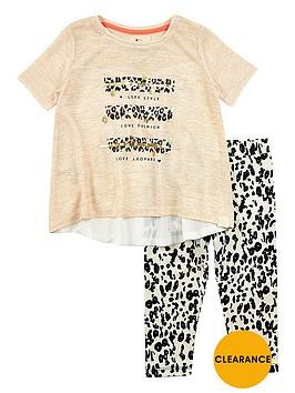 river-island-mini-girls-leopardnbspt-shirt-and-leggings-set