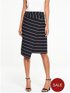 v-by-very-wrap-over-stripe-skirt