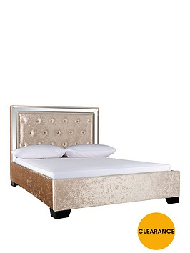 broadway-double-bed-and-headboard-with-optional-mattress