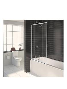 aqualux-aqua-3-fully-framed-bath-shower-screen-white