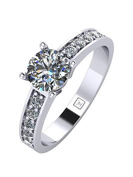 moissanite-platinum-1-carat-round-brilliant-solitaire-ring-with-stone-set-shoulders