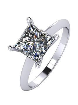 moissanite-platinum-2-carat-princess-cut-solitaire-ring