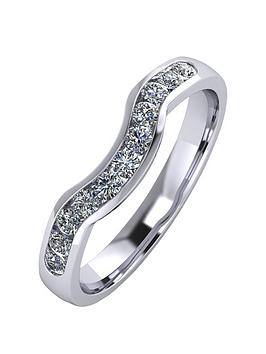 moissanite-platinum-33pt-channel-set-shaped-wedding-ring