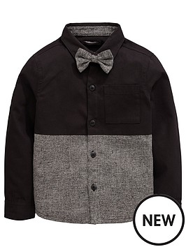 mini-v-by-very-boys-shirt-with-bow-tie