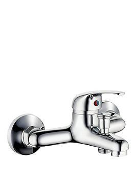 schutte-athos-plus-bath-mixer-tap-with-lever-handle