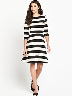phase-eight-stripe-ottoman-dress