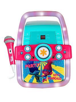 trolls karaoke machine