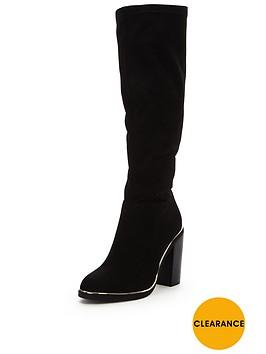 v-by-very-tara-gold-trim-knee-bootnbsp