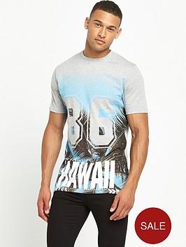 river-island-longline-hawaiian-print-tshirt