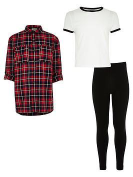 river-island-girls-red-check-shirt-t-shirt-and-leggings