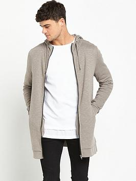 river-island-longline-slub-hooded-top