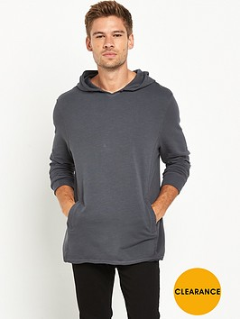 river-island-longline-raw-edge-hooded-top