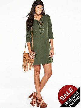 v-by-very-eyelet-lace-up-dress